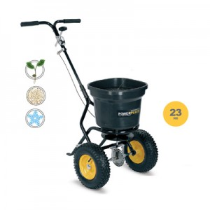Carro esparcidor de 23 kg Powerplus